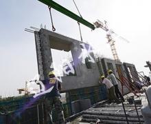 装配式建筑施工现场